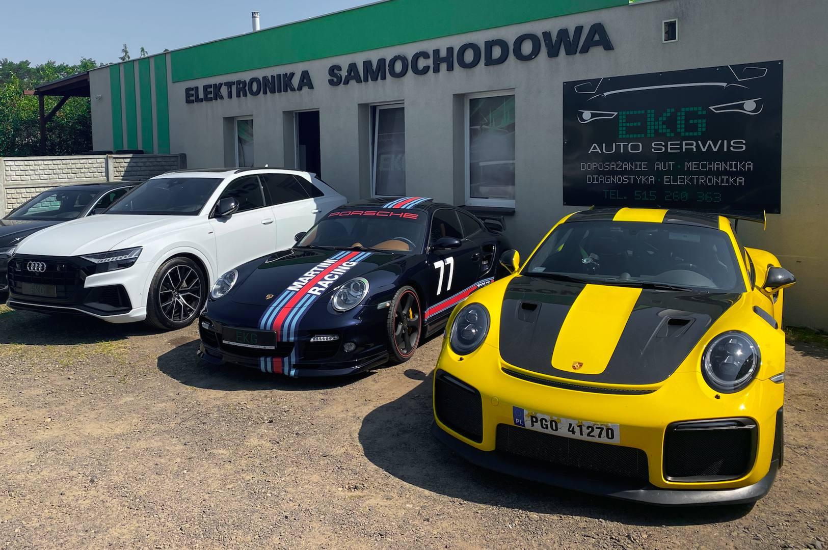 EKG AutoSerwis Serwis Porsche w Poznaniu